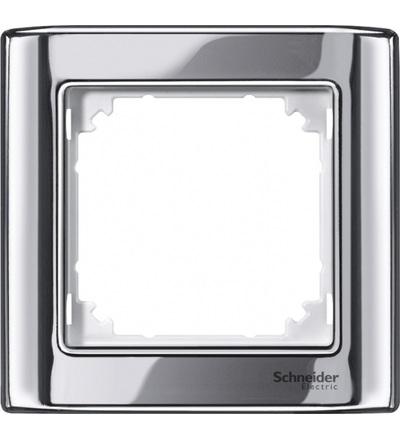 Schneider Electric MTN477119 Merten, M-Star rámeček, jednonásobný, chrome/polar