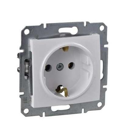 SDN3000521 Zásuvka Schuko 2P+E 230 V 16 A, polar, Schneider Electric