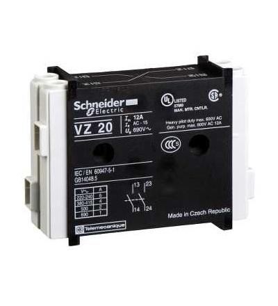 Schneider Electric VZ7 Blok pomoc.kont., Vario, 1Z+1V
