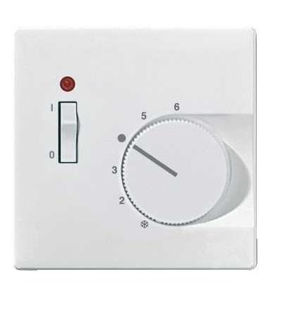 Schneider Electric MTN539719 Merten-cent.deska pro vlož.ovl.teplot.pokoje se spínač.-Artec/Trancent/Antique