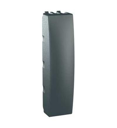 Schneider Electric MGU9.864.12 Unica Top/Class, záslepný kryt, 0,5m, grafit