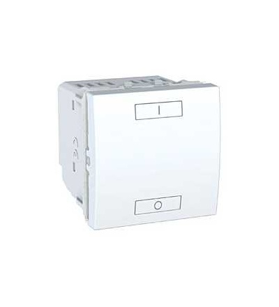 MGU3.572.18 Unica Wireless, kombinované relé, 230V AC, 0...2300 W, 2mod., polar, Schneider Electric