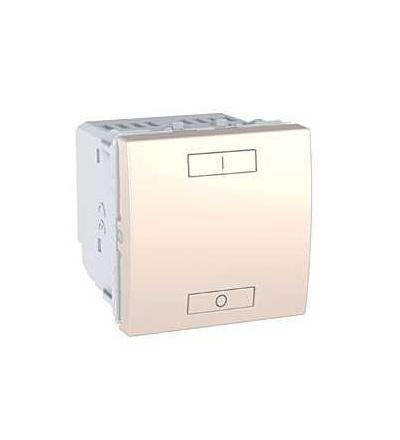 Schneider Electric MGU3.572.25 Unica Wireless, kombinované relé, 230V AC, 0...2300 W, 2mod., marfil