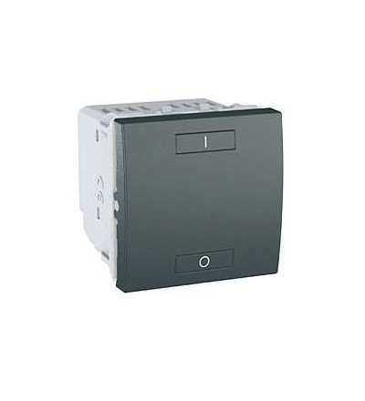 MGU3.572.12 Unica Wireless, kombinované relé, 230V AC, 0...2300 W, 2mod., grafit, Schneider Electric