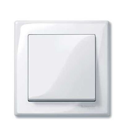 Schneider Electric MTN478125 Merten M-Smart, krycí rámeček, 1-násobný, active white