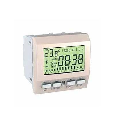 Schneider Electric MGU3.505.25 Unica-termostat týdenní programovatelný-230V AC-2m-marfil