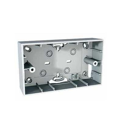 Schneider Electric MGU8.104.18 Unica Allegro, inst. krabice, polar, 4mod., polar
