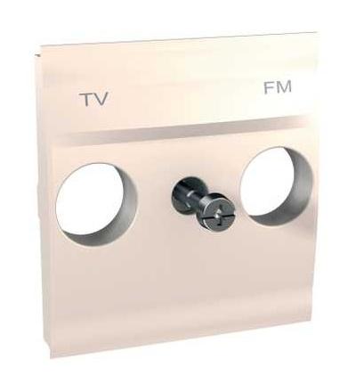 MGU9.440.25 Unica, krycí deska pro zásuvku TV/FM, 2mod., marfil, Schneider Electric
