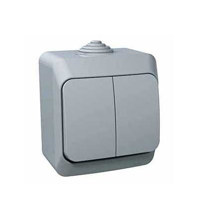 WDE000650 Cedar Plus, přepínač sériový ř.5, 16AX, šedá, Schneider Electric