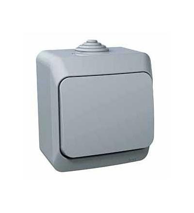 Schneider Electric WDE000611 Cedar Plus, ovládač tlačítkový, 16A, šedá