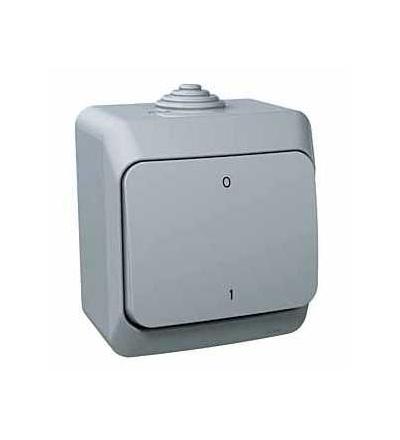 WDE000620 Cedar Plus, spínač. dvojpólový, 16AX, šedá, Schneider Electric