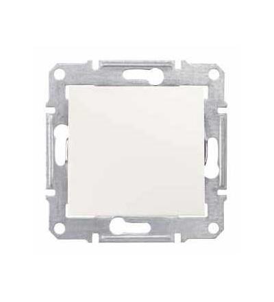 SDN5600123 Sedna, záslepka, bez rámečku, cream, Schneider Electric