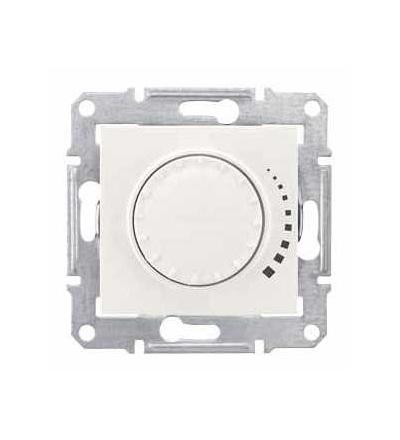SDN2200723 Sedna, stmívač otočný tlač. RC 25-325W/VA, ř. 6, bez rámečku, cream, Schneider Electric