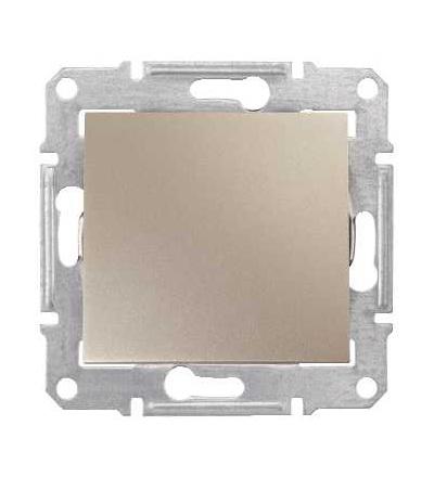 SDN5600168 Sedna, záslepka, bez rámečku, titan, Schneider Electric