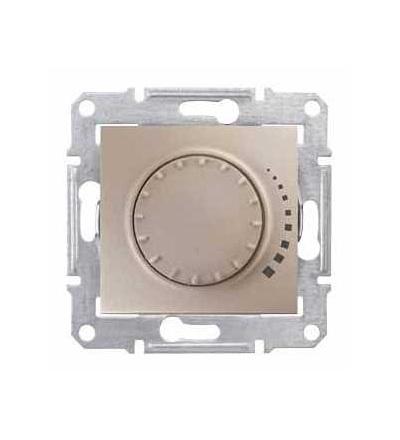 SDN2200768 Stmívač otočný tlač. RC 25-325W/VA, ř. 6, titan, Schneider Electric