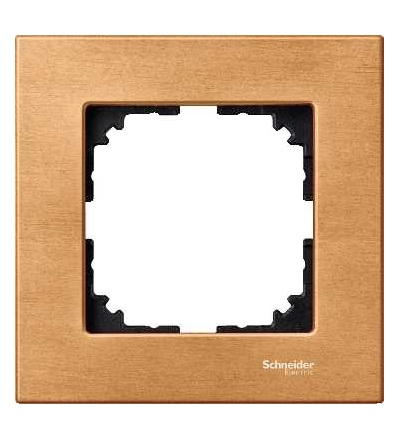 Schneider Electric MTN4051-3470 Merten M-Elegance Wood, krycí rámeček, 1-násobný, beech