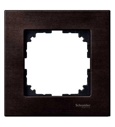 Schneider Electric MTN4051-3471 Merten M-Elegance Wood, krycí rámeček, 1-násobný, wenge