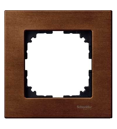 Schneider Electric MTN4051-3472 Merten M-Elegance Wood, krycí rámeček, 1-násobný, cherry wood