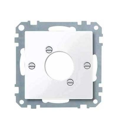 Schneider Electric MTN468025 Merten, System M, kryt pro zásuvku audio XLR, active white