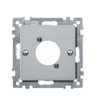 Schneider Electric MTN468960 Merten, System M, kryt pro zásuvku audio XLR, aluminium