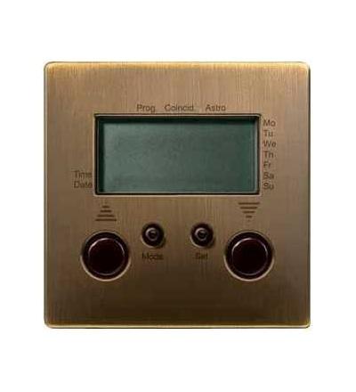 Schneider Electric MTN585143 Merten-čas.spínač rolet/žaluzií s přípoj.čidla-Artec/Trancent/Antique
