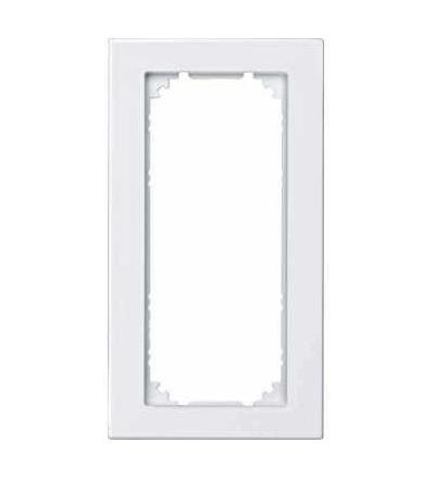 Schneider Electric MTN587319 Merten M-Plan, rámeček, 2nás. bez středního můstku, polar white