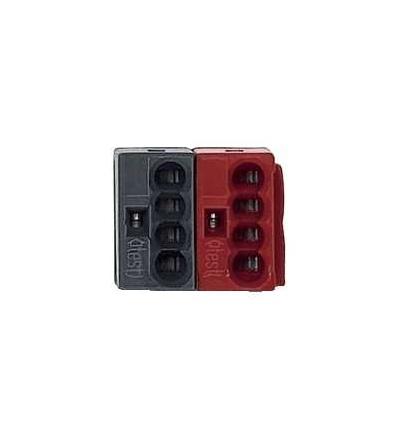 Schneider Electric MTN689701 KNX sběrnicové svorky WAGO, červeno/černé (50 ks)