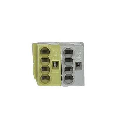 Schneider Electric MTN689702 KNX odbočkové svorky WAGO, žluto/bílé (50 ks)