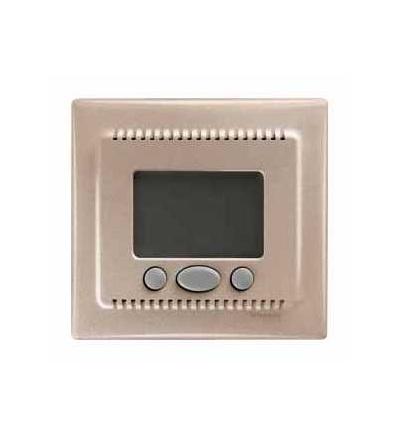 SDN6000268 Termostat programovatelný (vč.čidla pro podlahové vytápění), titan, Schneider Electric
