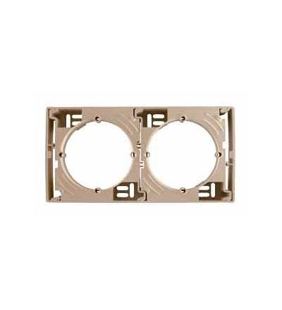 Schneider Electric SDN6100268 Sedna, krabice pro povrchovou montáž vícenásobná, titan