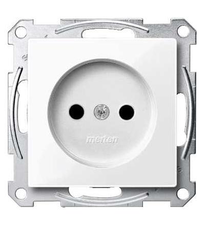 Schneider Electric MTN2000-0325 Merten, System M, zás.vlož. bez PE kontaktu-krytka-šroubové svorky-active