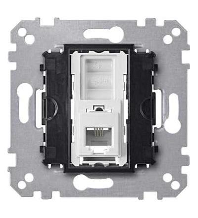 Schneider Electric MTN463501 Merten, mechanizmus zásuvka telefonní 1xRJ11 4-pinová