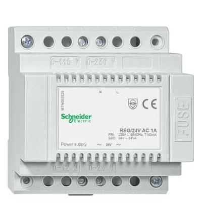 Schneider Electric MTN663529 Napájecí zdroj REG/24V AC/1A