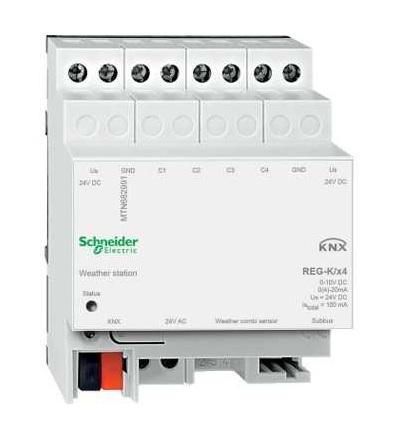 MTN682991 KNX meteorologická stanice REG-K/4-násobná, Schneider Electric