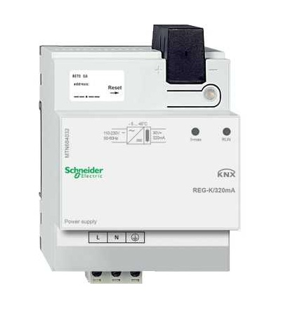 MTN684032 KNX napájecí zdroj REG-K/320mA, Schneider Electric