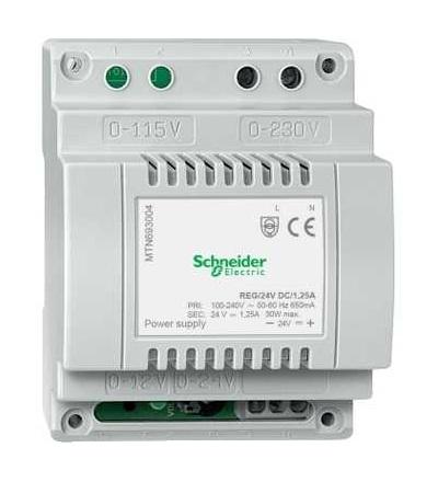 Schneider Electric MTN693004 Napájecí zdroj REG/24V DC/1,25A