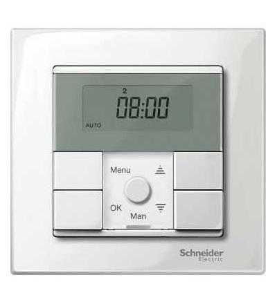 Schneider Electric MTN515119 Merten M-Plan, krycí rámeček, 1-násobný, polar white