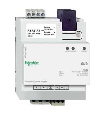MTN683901 KNX záložní napájecí zdroj REG, Schneider Electric