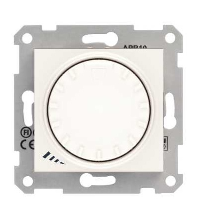 SDN2200923 Stmívač otočný, tlačítkové spínání, RL 40-1000 W/VA, ř. 1, cream, Schneider Electric