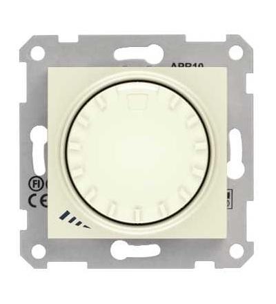 SDN2200947 Stmívač otočný, tlačítkové spínání, RL 40-1000 W/VA, ř. 1, beige, Schneider Electric