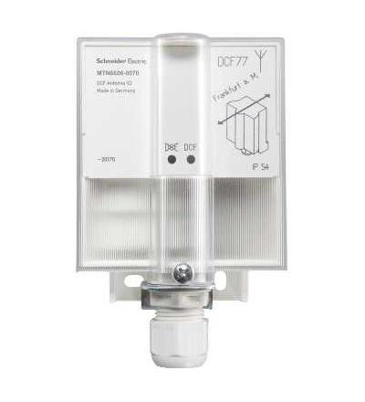 Schneider Electric MTN6606-0070 DCF-77 anténa v2 pro KNX roční časový spínač REG-K/8/800