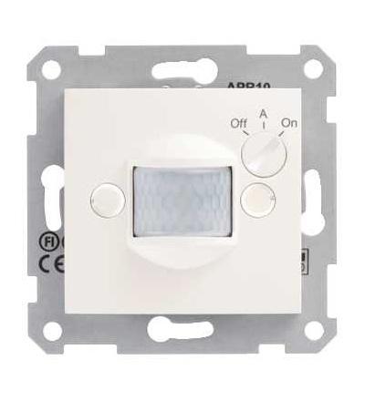 SDN2000223 Sedna, detektor pohybu, 10A bez rámečku, cream, Schneider Electric
