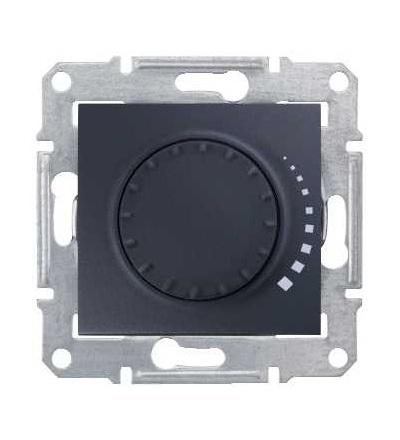 SDN2200770 Stmívač otočný tlač. RC 25-325W/VA, ř. 6, graphite, Schneider Electric