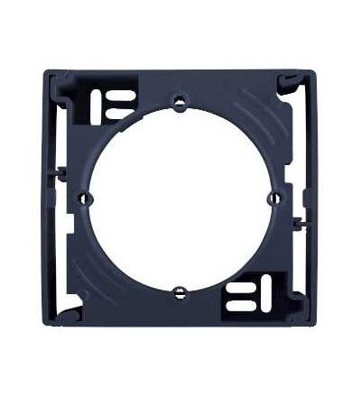 SDN6100170 Krabice pro povrchovou montáž jednonásobná, graphite, Schneider Electric