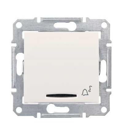 SDN1700123 Ovládač tlačítkový 12V s orientační kontrolkou