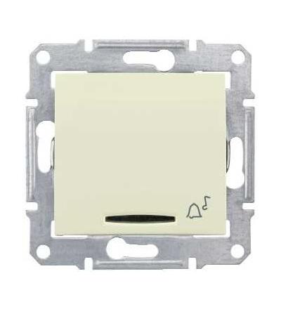 SDN1700147 Ovládač tlačítkový 12V s orientační kontrolkou