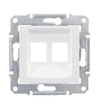 SDN4400621 Kryt datové zásuvky 2xRJ45-AMP, Molex, Keline, polar, Schneider Electric
