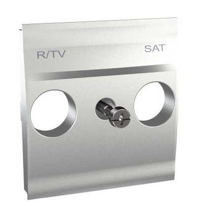 Schneider Electric MGU9.441.30 Centrální deska pro antenní zásuvku TV/R-SAT, alu