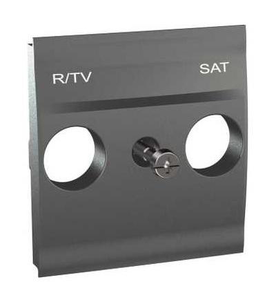 Schneider Electric MGU9.441.12 Centrální deska pro antenní zásuvku TV/R-SAT, grafit