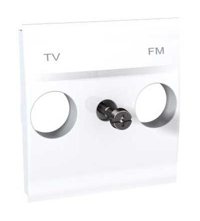 MGU9.440.18 Unica, krycí deska pro zásuvku TV/FM, 2mod., polar, Schneider Electric